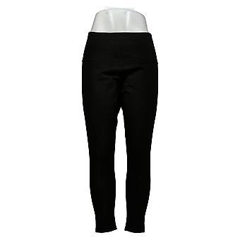 Kvinder med Kontrol Leggings Regelmæssig Reversibel Ingen Side Seam Sort A384086