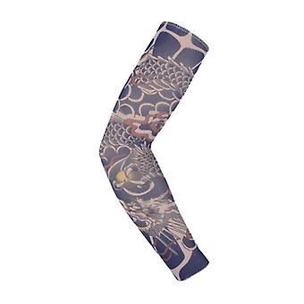 1pc 3d Tattoo Hommes Arm Cover