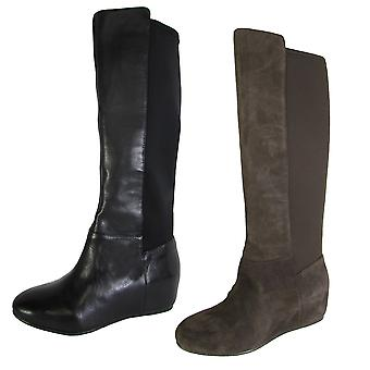 BCBG BCBGeneration Womens BG-Indie Knee High Wedge Heel Boot Shoe