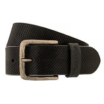 WRANGLER correa cuero cinturones hombre cinturones Brown 6526