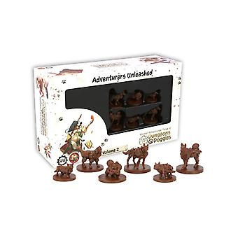 Masmorras e Miniaturas de Doggies Caixa 2