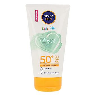 Sun Cream Sun Niños Mineral Nivea 50+ (150 ml)
