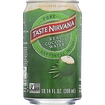 טעם נירוונה מים קוקוס טבעי, מארז של 12 X 10.14 עוז