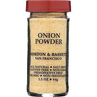 Morton & Bassett Onion Powder, Case of 3 X 2.3 Oz