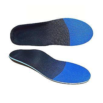 Plantarfasziitis Füße Einlegesohlen Bogen stützt Orthesen Einsätze entlasten Plattfüße (XL)