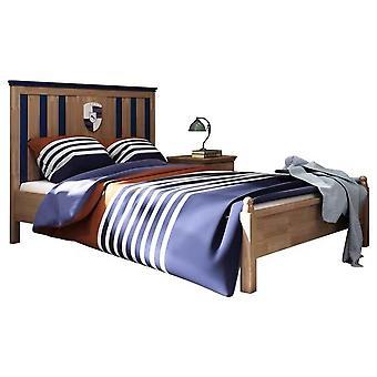 Детская кровать из массива дерева Современная простая односпальная кровать Для подростков 1,2 метра