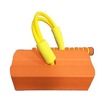 Schaumstoff Pogo Pullover für Kinder Spaß und sichere Springstock Pogo Stick (Orange)