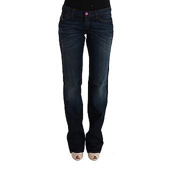 Blue cotton regular fit v3 denim jeans