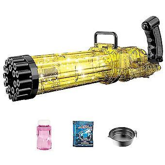 21-reikäinen sähköinen gatling-kupla, kesäiset ulkolelut pojille Tytöt (kulta)