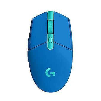 počítačová hra bezdrôtová myš ergonomická myš (modrá)