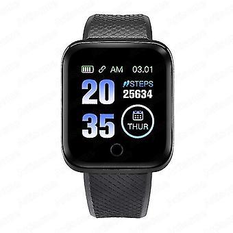 Men Women Smart Watch Android(B Watch-Black)