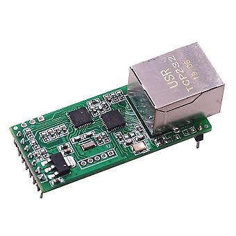 Usr-tcp232-t2 Rs232 Serial To Ethernet Module Tcp Ip Udp Network Converter