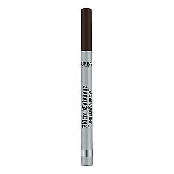 Eyebrow Liner Unbelievabrow L'Oréal Paris Micro Tatouage Shade 109-ebony