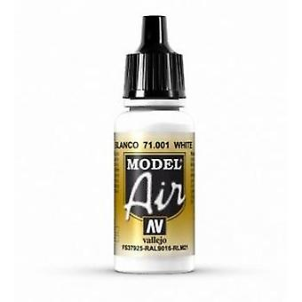 Vallejo Model Air 1 White - 17ml Acrylic Airbrush Paint