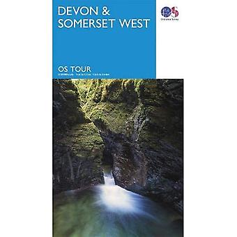 Devon & Somerset West (OS Tour Kaart)