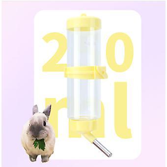 Pet Water Drinker Rabbit Water Bottle Automatic Drinker Pet Hamster Guinea Pig Veveriță Chinchilla Rabbit Ball Drinker Water Bottle (250ml)