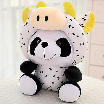 Chinese Zodiac Panda Doll getransformeerd in een pluche speelgoed nationale schat
