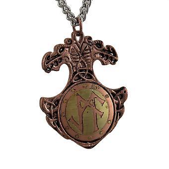 Viking Bind Rune Charm Necklace Talisman voor het aantrekken van succes