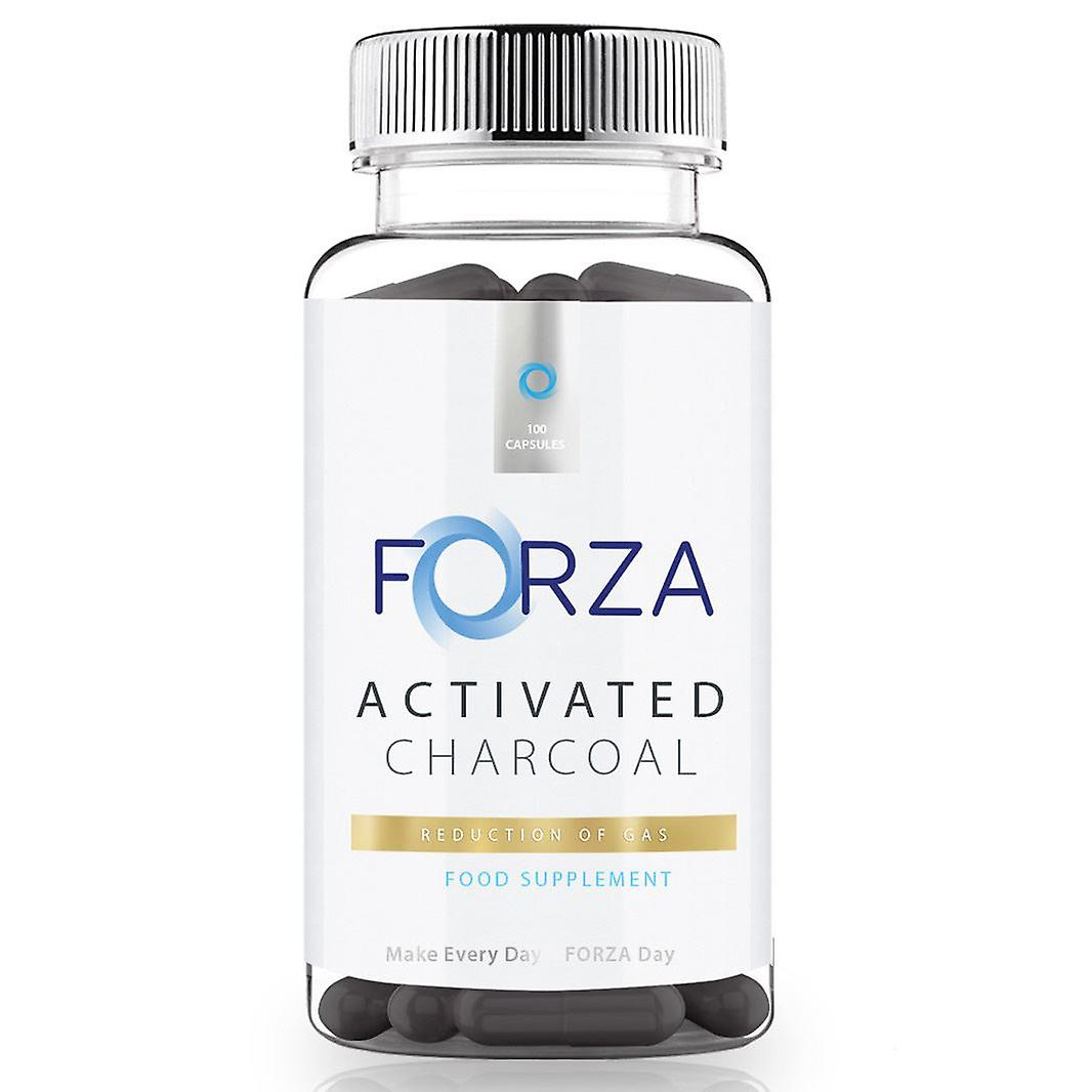 FORZA Activated Charcoal 100 Capsules