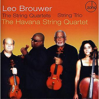 L. Brouwer - Leo Brouwer: The String Quartets; String Trio [CD] USA import