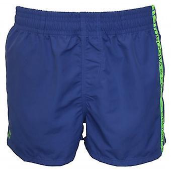 Drogba & Co. by HOM Beach Boxer Shorts, Blue