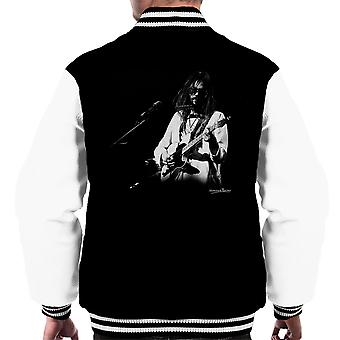 Varsity Jacket Palazzo di Neil Young Manchester 1973 maschile