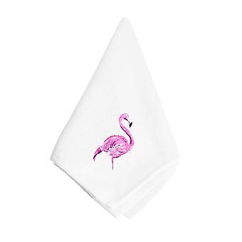 Carolines Treasures  8875NAP Pink Flamingo Napkin