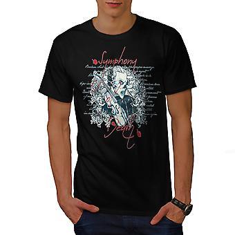 Symfonii śmierci muzyka BlackT koszul   Wellcoda