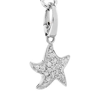 Stelle marine di fascino Burgmeister JBM1080-621, perle in argento sterling 925