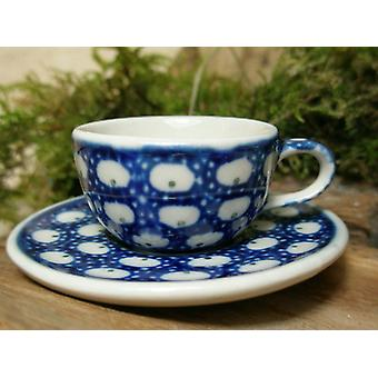 Cup with saucer, miniature, traditions 4, Bunzlauer pottery - BSN 6933