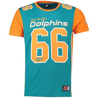 Majestic NFL Mesh Polyester Jersey Shirt - Miami Dolphins
