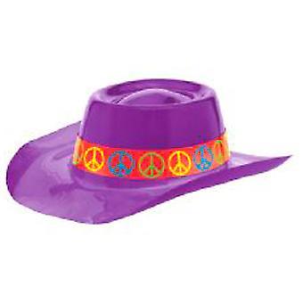 Plastic paix Chapeau de cowboy