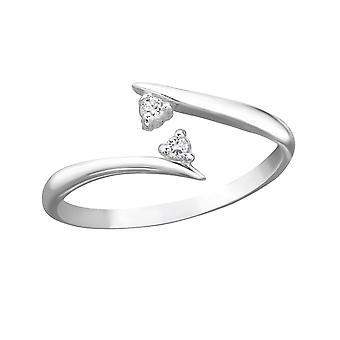 Συγκλίνει-925 ασήμι στερλίνας δαχτυλίδια ποδιού-W21276X