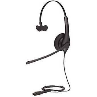 Jabra BIZ 1500 telefon hodetelefonen med ledning på øret svart