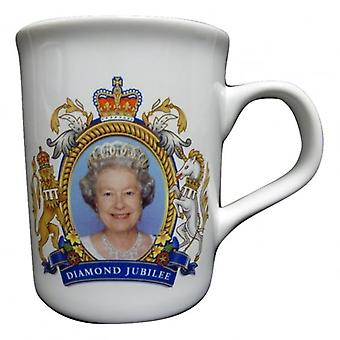 Union Jack Wear HRH The Queen Diamond Jubilee / Coronation Mug - Collectors Item