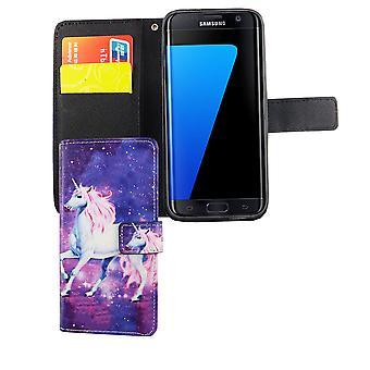 Mobiele telefoon geval zakje voor mobiele Samsung Galaxy S7 Unicorn magic