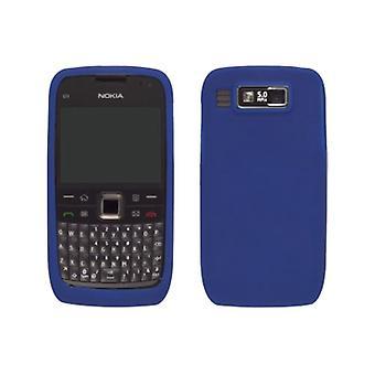 Solución inalámbrica funda de Gel de silicona para Nokia E73 Mode (azul cobalto)