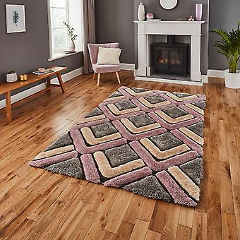 Noble House Rugs Nh 8199 In Grey Rose