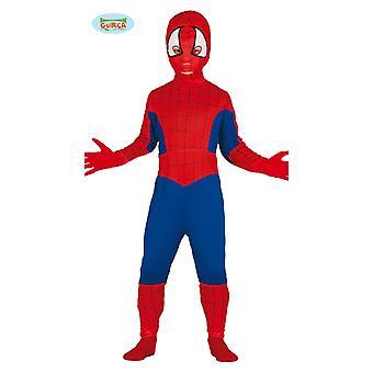 Girar o miúdo miúdos traje de super-heróis aranha carnaval Carnaval