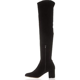 INC International Concepts Womens Rikkie2 Fabric Closed Toe Over Knee Fashion Boots
