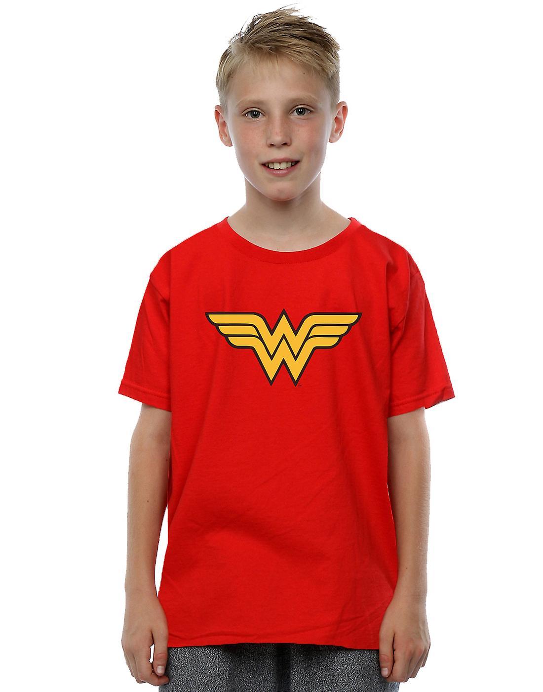 DC Comics Boys Wonder Woman Logo T-Shirt