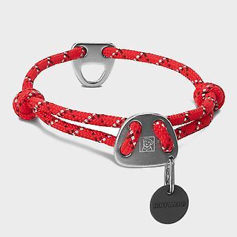 Nova Ruffwear Knot-a-colarinho coleira de cachorro vermelho