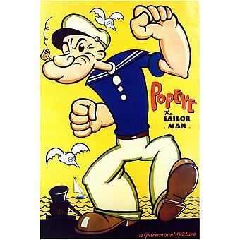 Popeye de zeeman Man filmposter (11 x 17)