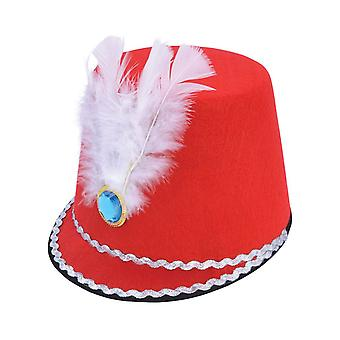 Bnov Majorette Hat Red