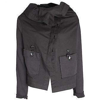 Crea käsite Roll Collar pitkähihainen takki