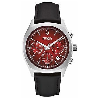 Bulova Mens Accutron II Red Chronograph Day Date 96B238 Watch