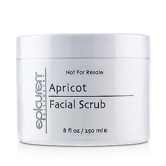 Esfoliação facial de Damasco epicuren-para todos os tipos de pele exceto Acneic & amp; Rosácea (tamanho do salão de beleza)-250ml/8oz