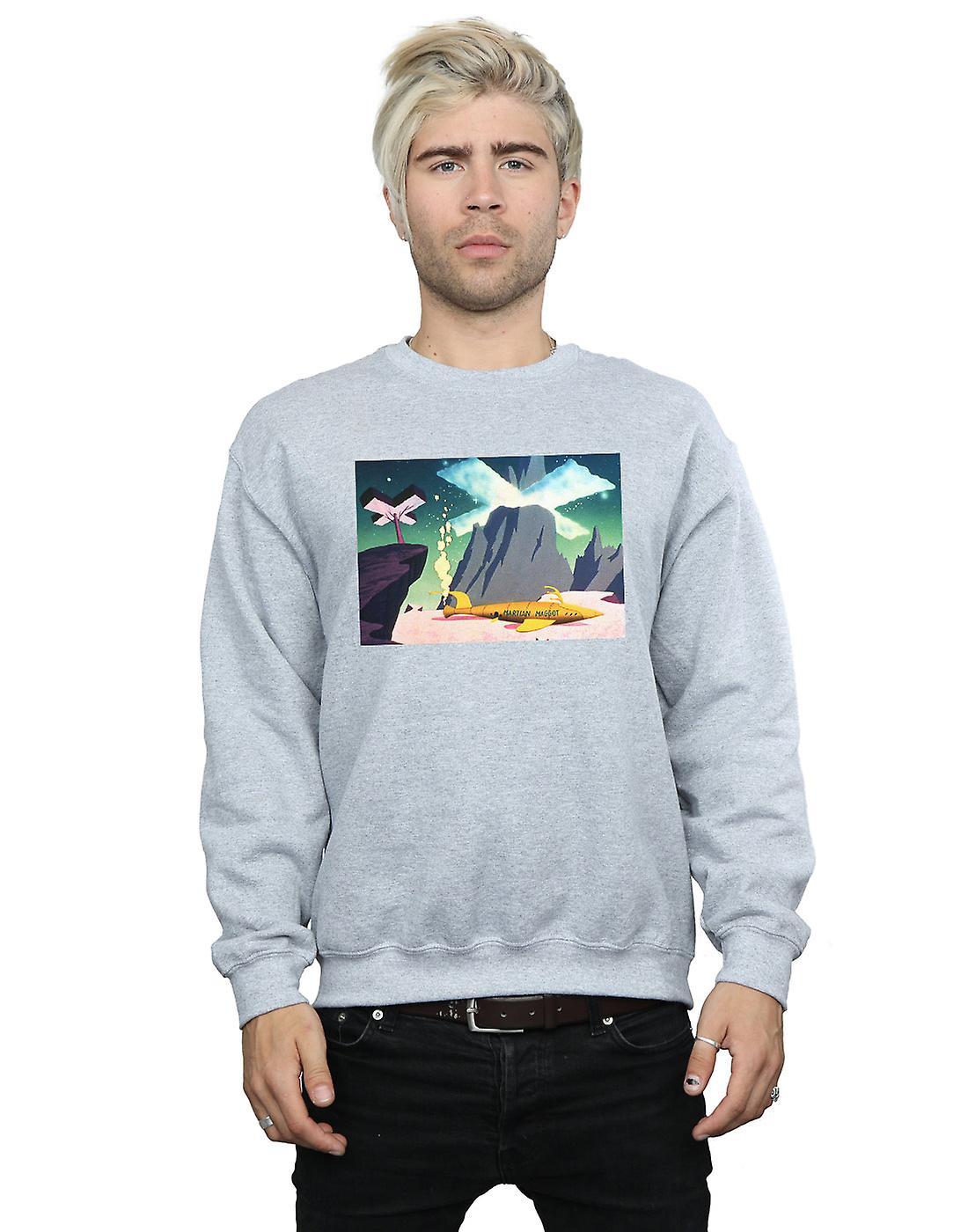 Looney Tunes Men's Martian Maggot Sweatshirt