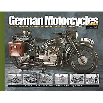 German Motorcycles of WWII - A Visual History in Vintage Photos and Re