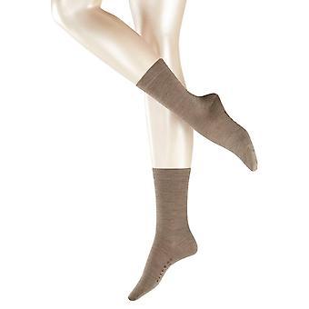 Falke Softmerino Midcalf calzini - grigio ghiaia